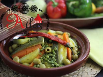Tajine mit allerlei Gemüse
