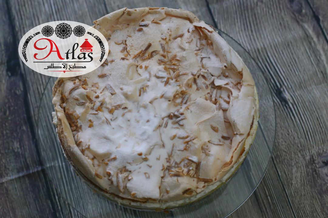 Apfel – Baiser Torte