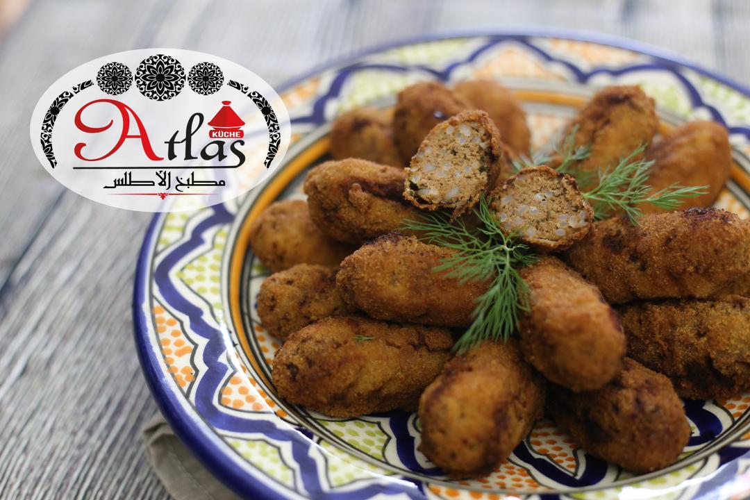 Kefta – kleine Hackwürstchen mit Reis