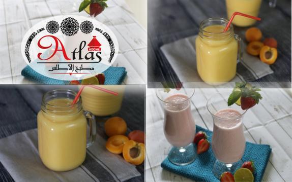 Erdbeer Joghurt-Drink & Aprikosen Mango-Drink