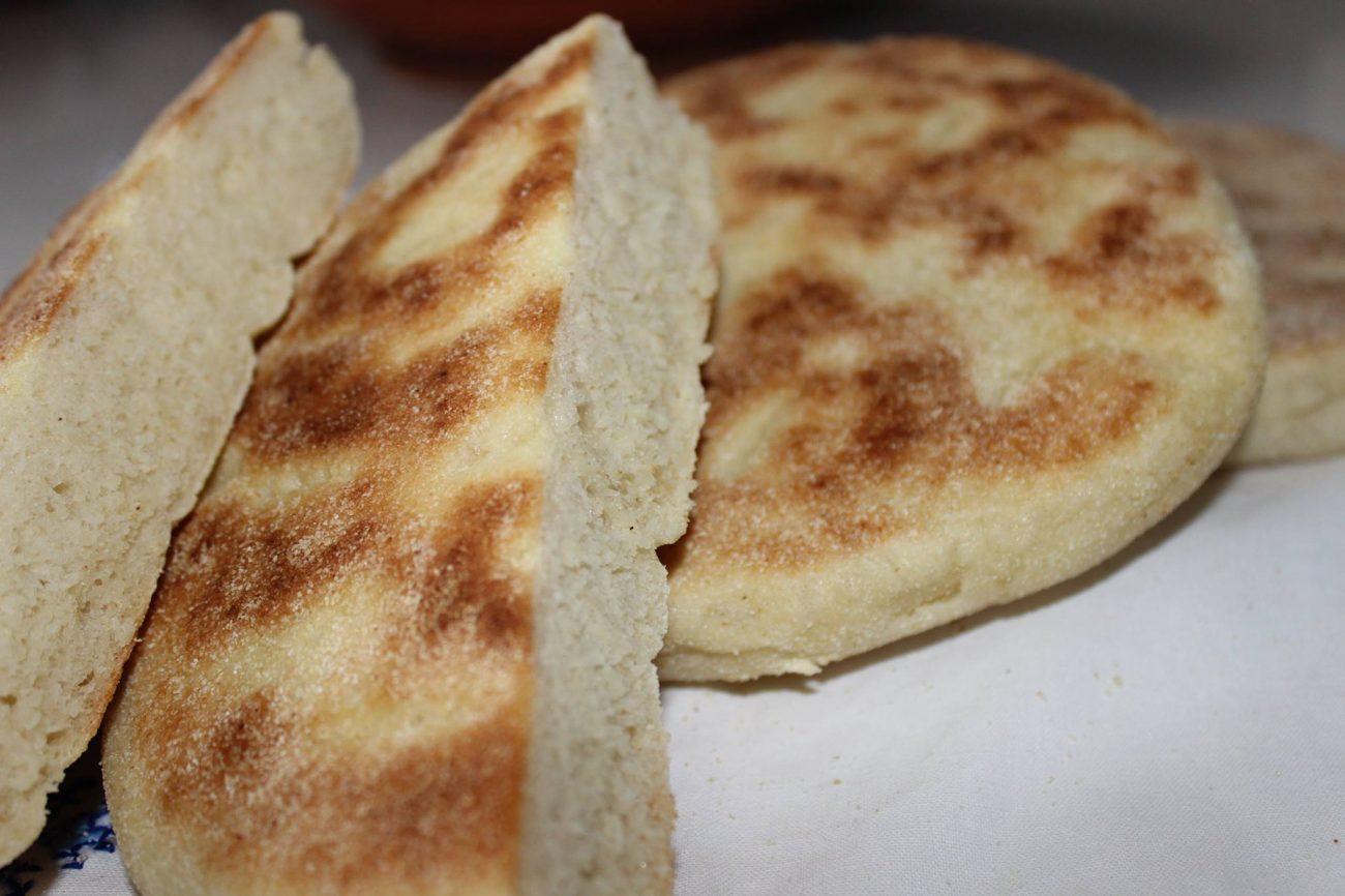 Marokkanisches Pfannenbrot