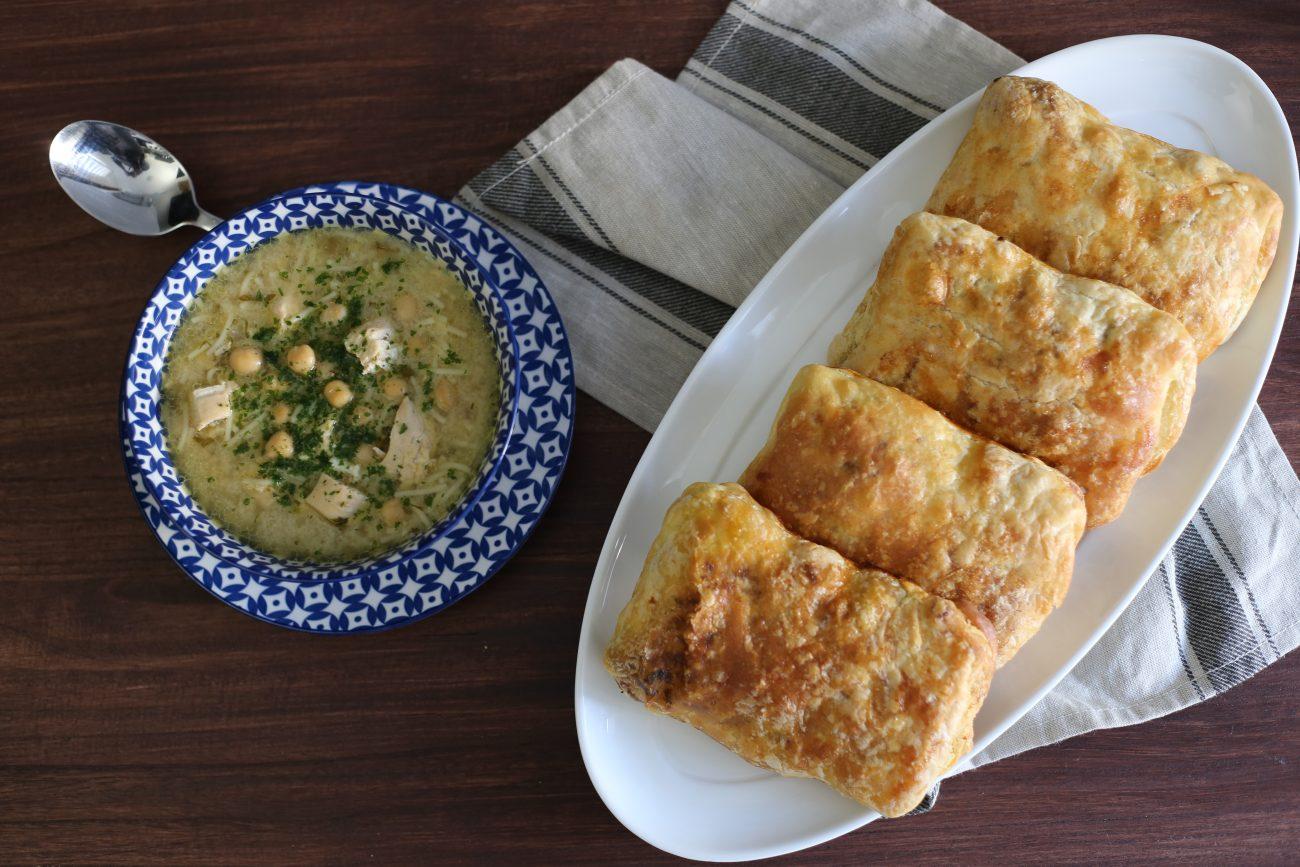 Chorba Baida & vegetarische Mssemen